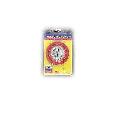 """Yellow Jacket 49511 3-1/2"""" L/F (°F And °C), Red Pressure, 0-500 Psi (0 To 34 Bar"""