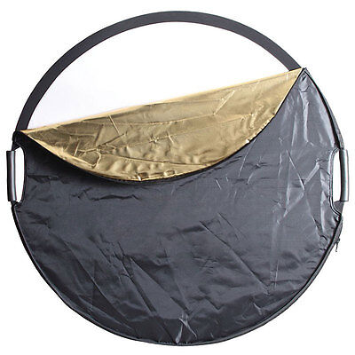 Phottix 5-in-1 Premium 120cm Collapsible Reflector with Handles