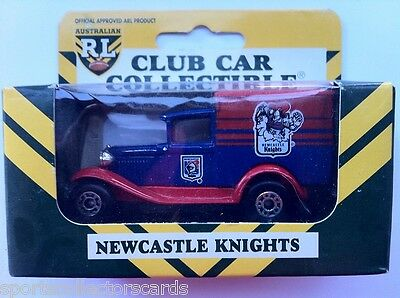 Nrl Rl 1995 Limited Edition Newcastle Knights Matchbox 38 A Model Ford Car