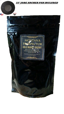2 Lb Gold Nugget Ultra Rich %100 Unsearched Pay Dirt (Montana) #185