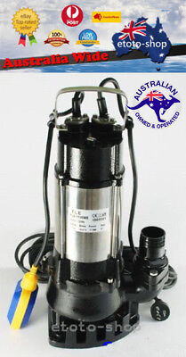 1100W Industrial Heavy Duty Submersible Grey Water Sewerage Septic Drainage Pump