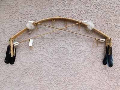Authentic Handmade Native American Navajo Made Bow and Arrows Set