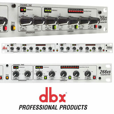 DBX 266XS 2 Channel Professional Compressor with Gate