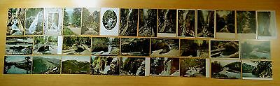 Lot of 32 Antique Postcards ALL FRANCONIA NOTCH, NH New Hampshire 4 UDB