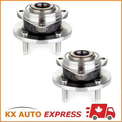 2 FRONT WHEEL HUB BEARING ASSEMBLY FOR CHEVROLET COBALT 2005 2006 4 Studs NonABS