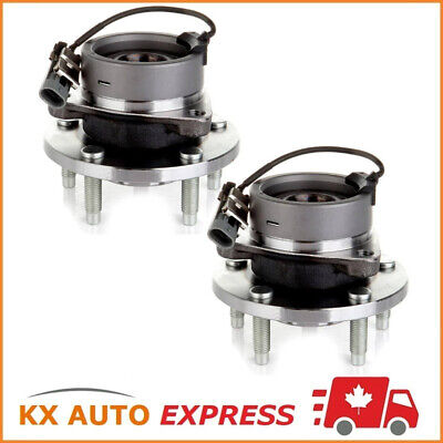 2X Front Wheel Hub Bearing Assembly For Pontiac G5 2007 2008 2009 2010 5Stud Abs