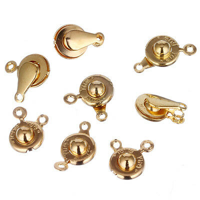 20 pcs 9mm Silvery Golden Wholesale Jewelry Findings Charm DIY Bracelet Necklace