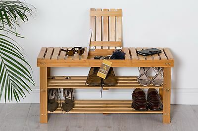 ASPECT Timor 3 Tier Bench with Extra storage  compartment-SR16W