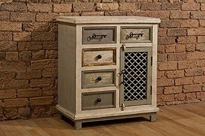 Hillsdale Furniture 1-Door Cabinet with Chicken Wire New
