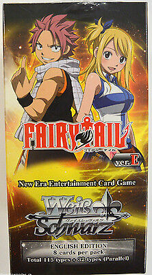 Weiss Schwarz Fairy Tail Factory Sealed Booster Box