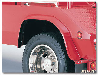 "2 1/2"" Wide Rear Fender Flare For Century Tow Truck Wrecker Body - One Pair"