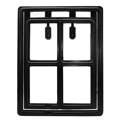 Safe Easy Screen Lockable Magnet Position Pet Door For Medium and Large Dog Cat