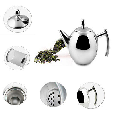Creative Stainless Steel Hot Water Pot Extra Large Teapot Kettle Infuser Coffee