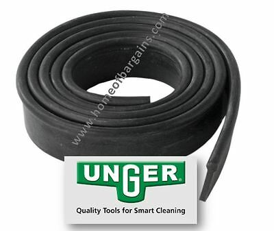 Genuine Original Unger Window Cleaning Squegee Replacement Rubber FREE Postage