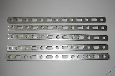 "Classic Car Exhaust Repair Metal Strip 12"" Long Heavy Duty Pack Of 5"