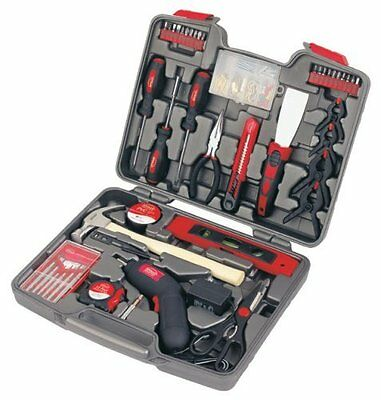 Apollo Precision Tools DT8422 144-Piece Household Tool Kit with 4.8-Volt
