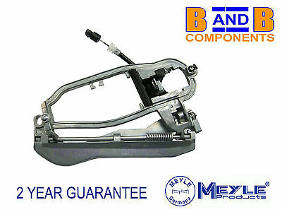 Bmw X5 E53 Inner Carrier Outer Door Handle Housing Front R/h O/s Meyle A1036