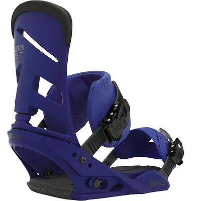 2016 Burton Mission Deep Blue Large Mens Snowboard Bindings