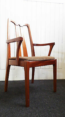 A vintage retro desk / occasional arm chair - dining carver armchair