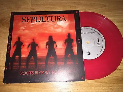 "Sepultura 7"" COLOURED Vinyl - Roots Bloody Roots (1996)"
