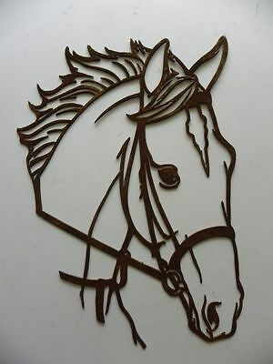 Horse head DXF for CNC plasma, laser, waterjet