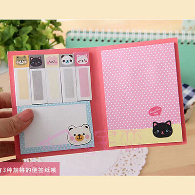 1PC Animal Cute Sticker Post-It Bookmark Point It Marker Memo Flags Sticky Notes