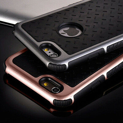 Shockproof Rubber Hybrid Fashion Hard Case Thin Cover For Apple iPhone7 6S 8Plus