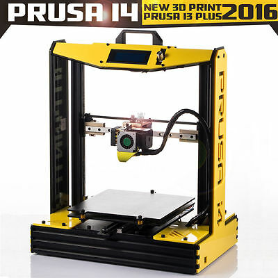 Prusa i4-Bumblebee High Accuracy 3D Printer + 2Rolls Filament +SD Card +Nozzles