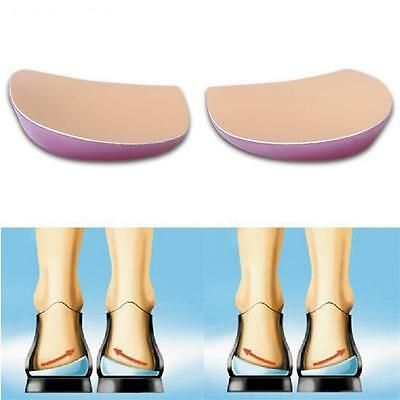 2Pair O/X type Leg Orthopedic Insole with Exclusive Soft Gel Feet Corrective Pad