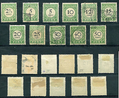 1892 Curacao Postage Due  N.11/20   Mh Used    Ont634