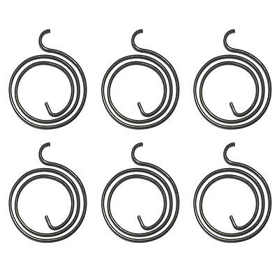6 x Door Handle Spring Replacement Lever Latch Coil Repair 3mm, 2.5 Turn