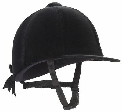 Champion Junior Riding Hat,All Sizes/Colours,Velvet Covered ,Free Delivery