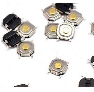 50PCS Switch Button Stable Tact SMD Micro Switch 4x4x1.5MM
