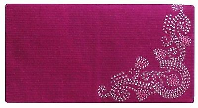 "Showman 38""x34"" 5lb 100% Woven New Zealand Pink Wool Saddle Blanket w Design"