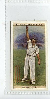 (Jd1431-100)  Wills,Cricketers 1928,M.w.tate,Sussex,1928,#43