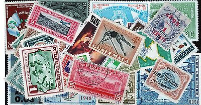 Guatemala Stamp Collection -- 340 Different -- Top Quality