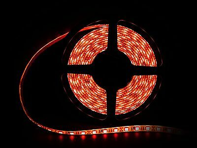 Red LED Light Ribbon Strip 197 inch roll, showcase display, car, small lighting