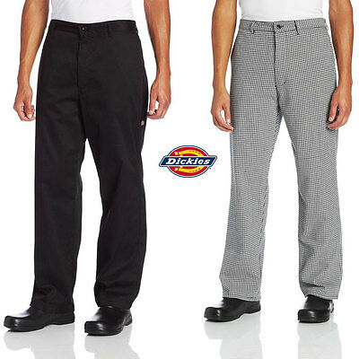 Dickies Chef Professional Chef Pants With Belt Loops & Zipper Fly DC223