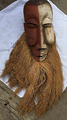 Rare Early African Tribal Mask