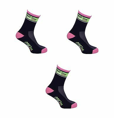 Kit Combo 3 Paia Calzini Ciclismo Proline Lampre Cycling Socks One Size 39/46
