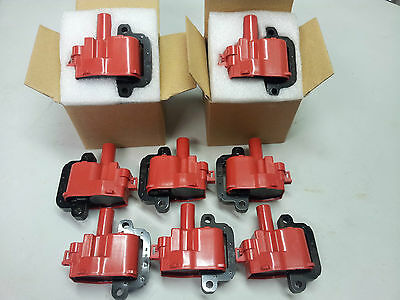 Ignition Coils 8 Pack Commodore Vu Vy Vz V8 5.7L Ls1 Gen3 Monaro Msd Replacement