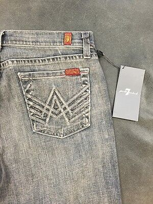 """Authentic NWT 7 for All Mankind BOYS  """" A """" Pocket JEANS Size 12"""