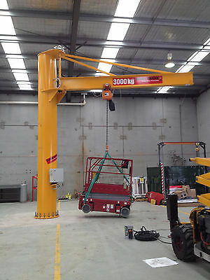 Custom made jib crane.
