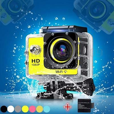 Pro 1080P WIFI 12MP SJ4000 HD Helmet Sport Action Waterproof Camera DV