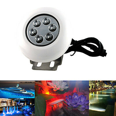 RGB Changeable Color Underwater Boat Pond Waterproof Marine Yacht LED Pool Light