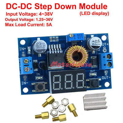 LED Display DC-DC Step down Adjustable Voltage Converter Module 3V 5V 12V 24v