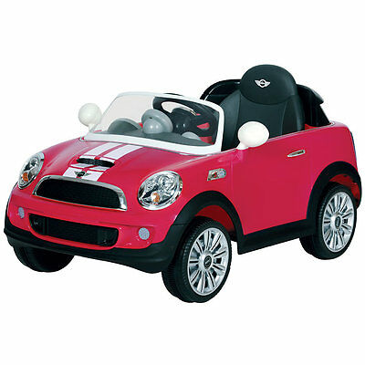 Kids Mini Cooper Coupe 6v  Childrens Electric Ride on Toy Car