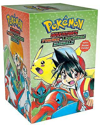 POKEMON ADVENTURES BOX SET FIRE RED & LEAF GREEN EMERALD 23 to 29