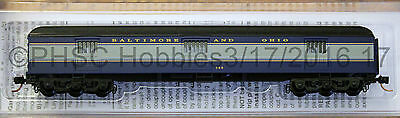 N Scale MICRO-TRAINS LINE 149 00 090 BALTIMORE & OHIO 70' Heavyweight Horse Car