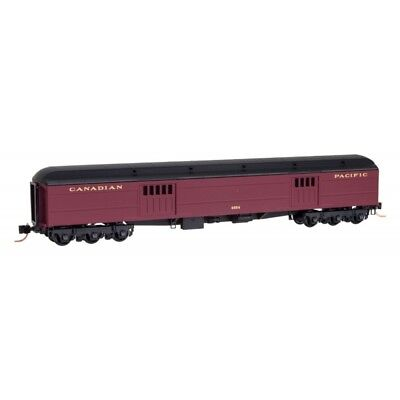 N Scale - MICRO-TRAINS 147 00 080 CANADIAN PACIFIC Express Baggage Car